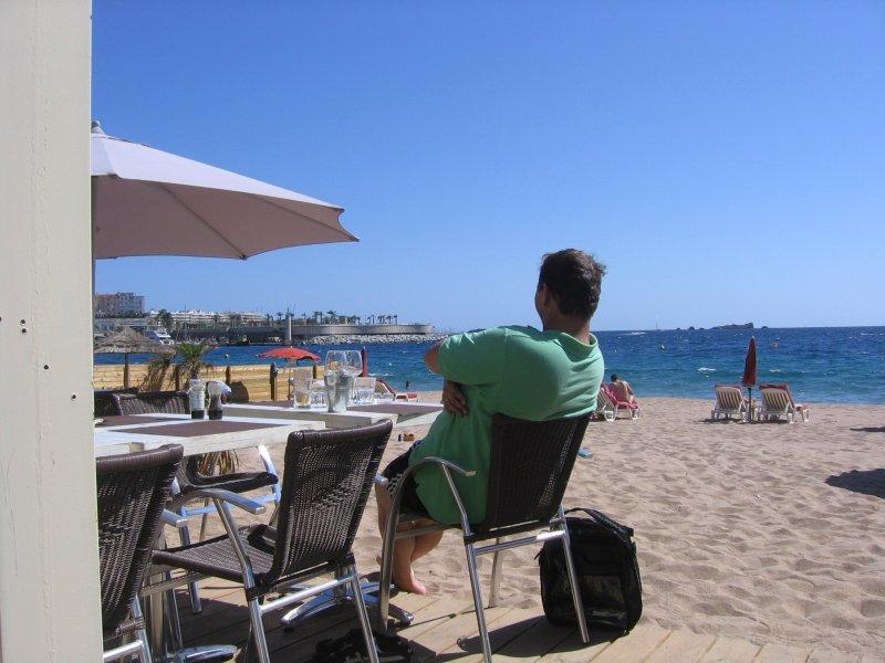 lekker lunchen aan de middellandse zee
